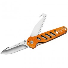 НОЖ BUCK ALPHA CROSSLOCK FOLDING ORANGE B0183ORS
